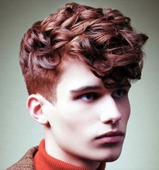 warna rambut ginger brown