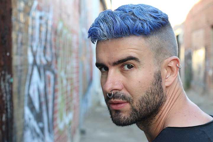 warna rambut pria