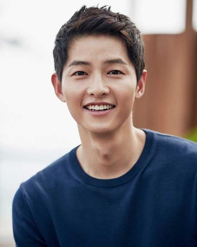 Crew Cut Song Joong Ki