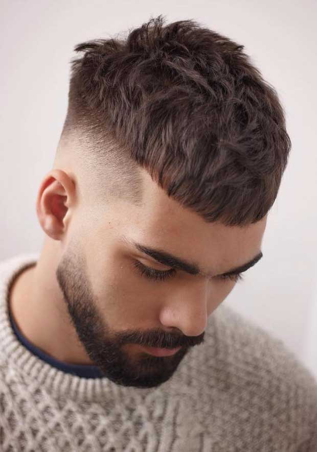 12 Pilih Gaya Rambut Pendek Pria Sesuai Bentuk Wajah Anda
